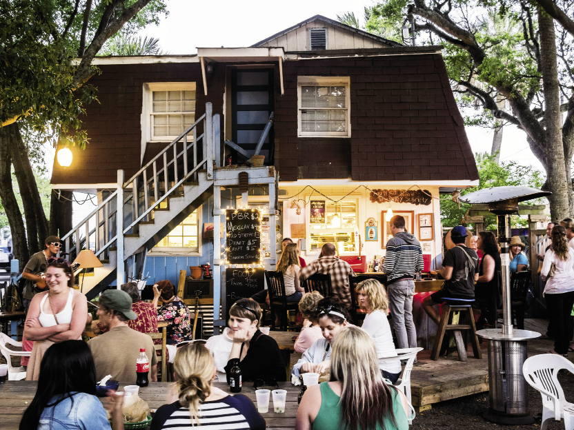 Chico Feo: 122 E. Ashley Ave.  Monday-Thursday: Noon-2 a.m.  & Friday-Sunday: 10 a.m.-2 a.m. (843) 296-7155; chicofeos.com