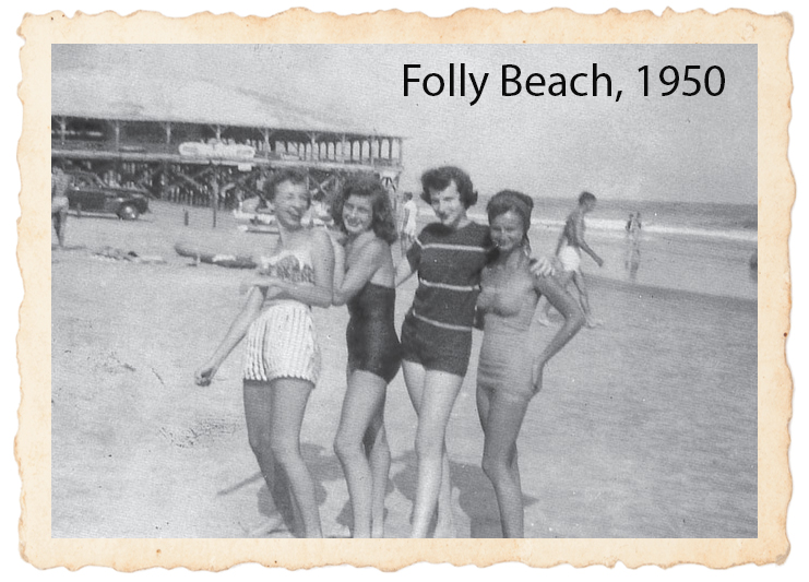 Folly Beach, 1950