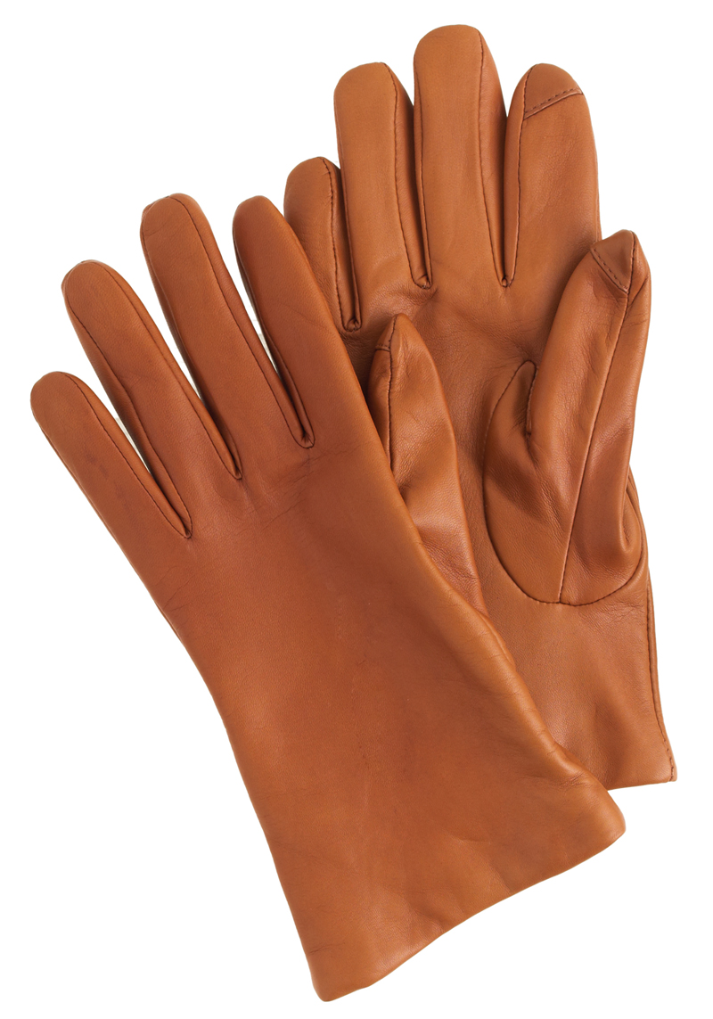 J. Crew leather texting glove, $98 at J. Crew