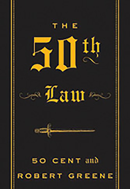 """Book On It: """"The 50th Law by 50 Cent and Robert Greene; as a young black man and a fan of hip-hop, I admire how 50 Cent defeated the odds to become the great entrepreneur that he is today.""""—Nate"""