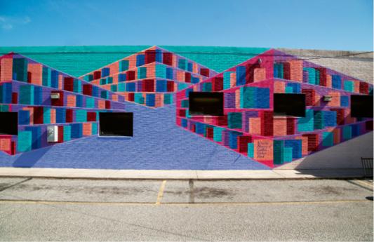 The Cynthia Graham Hurd mural at John L. Dart Library
