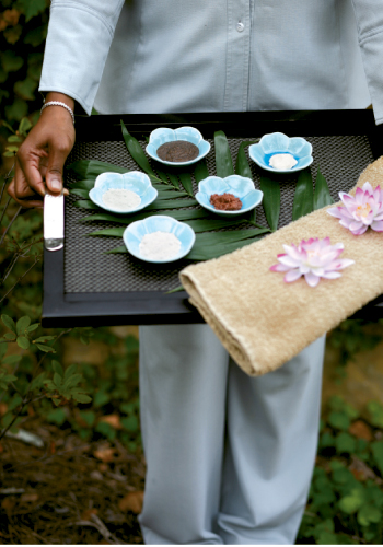 The spa's Japanese Tea Ritual pedicure—  with special products such as nut- and green-tea rubs presented in ceramic lotus bowls—is a unique pleasure not to be missed.