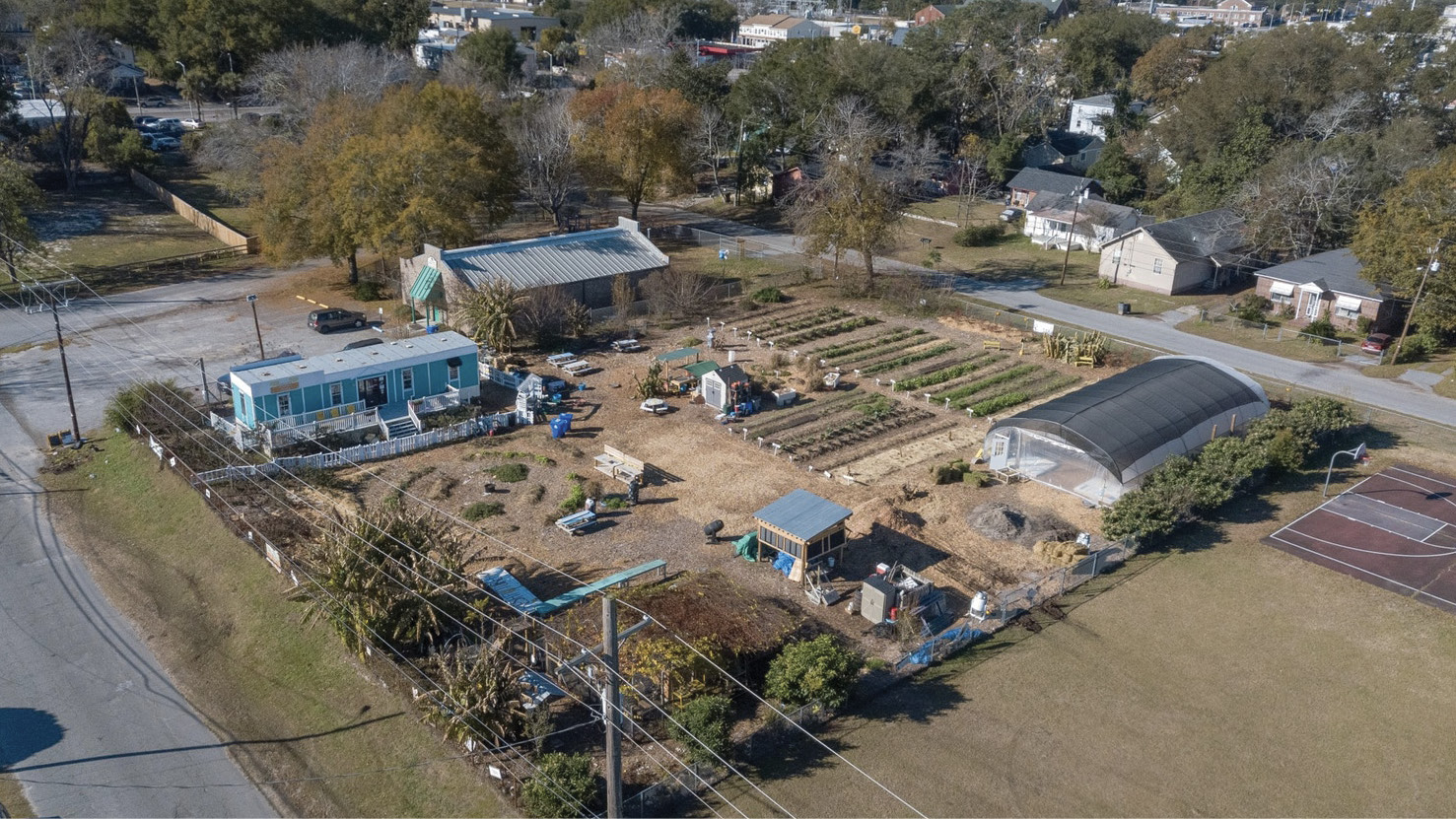 In the formerly vacant lot beside the old Chicora Elementary School, Jenkins and her team have created an urban oasis, where neighbors can buy freshly harvested vegetables and fruits and learn about growing and preparing nutritious food.