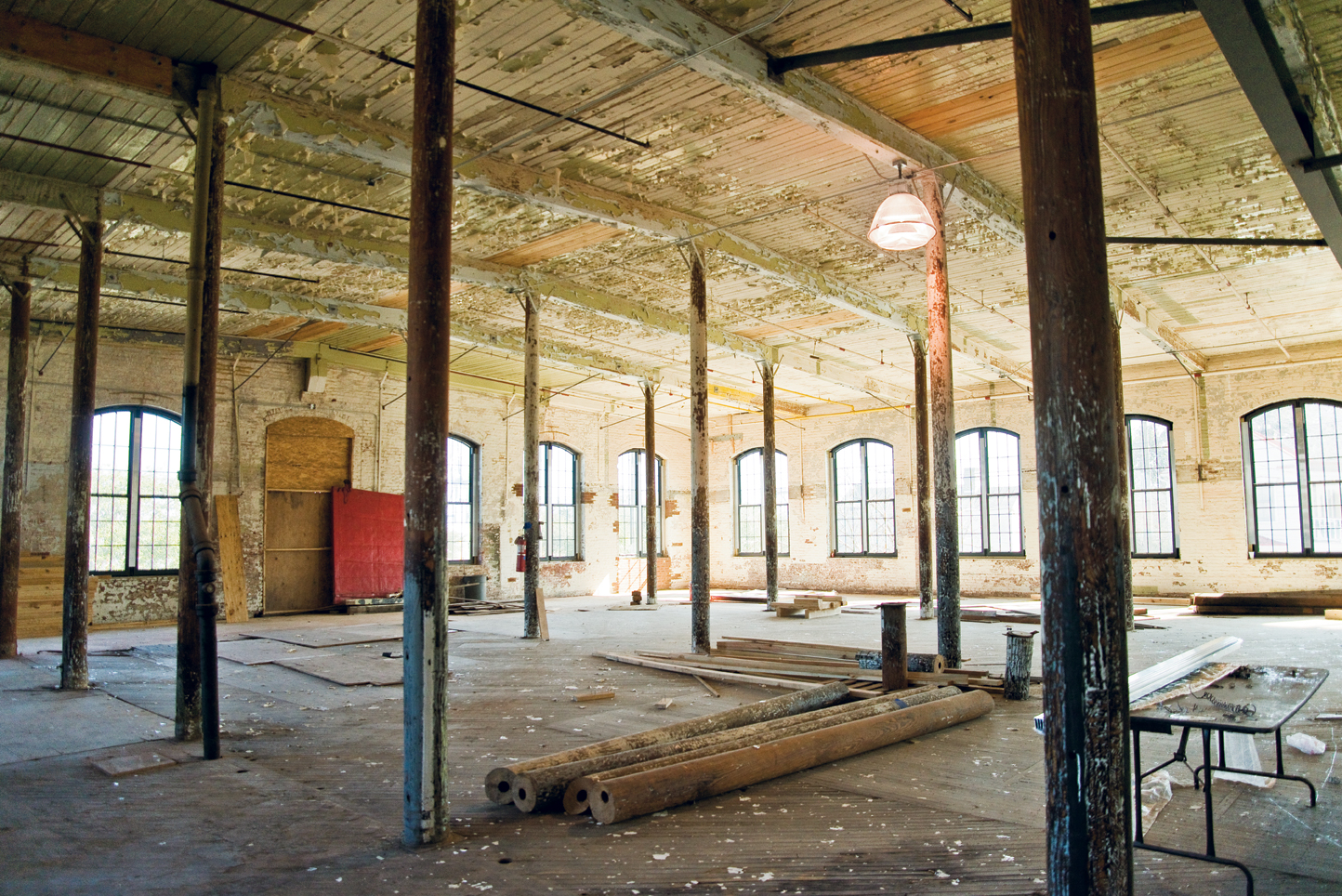 Good Bones: Palmer's three new projects will occupy 75,000 square feet of the historical Cigar Factory building.