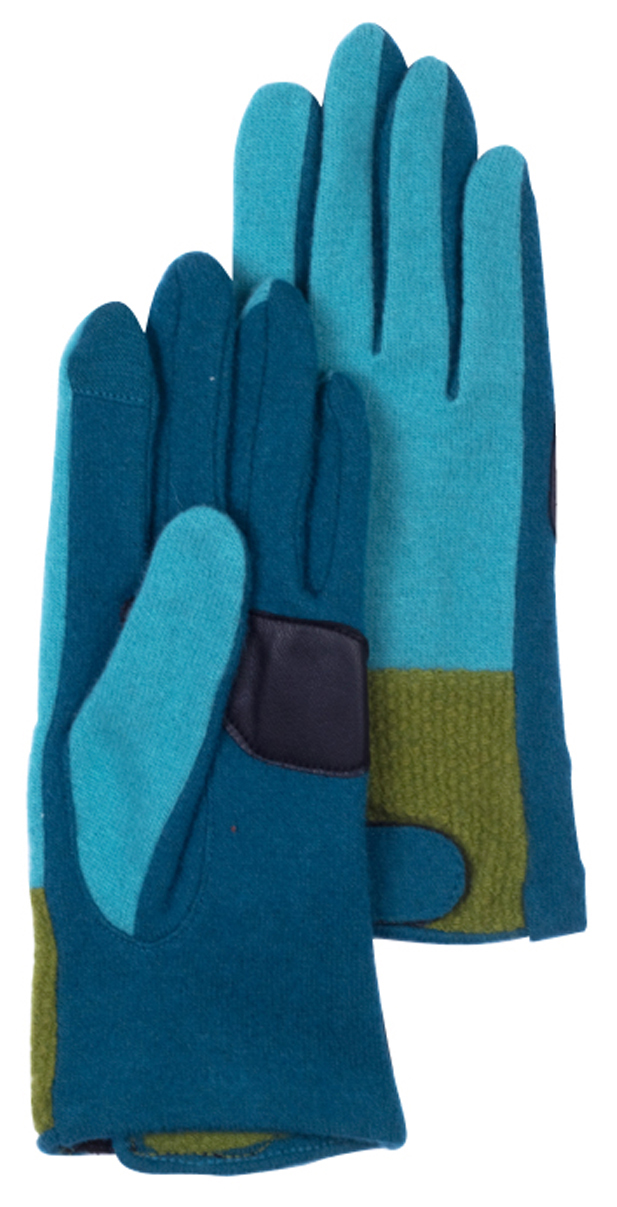 Echo color blocked wool gloves, $48 at Haute Hanger