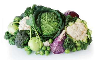 """Leafy greens:  """"I love brassicas! Brussels sprouts have been my favorite fall vegetable, ever since I was a kid, shockingly enough."""""""