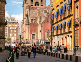 "Go-To Getaway: ""I love Mexico City. It's beautiful, inexpensive, and the culture and people are phenomenal."""