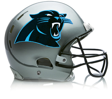 "Game Time - ""I watch European soccer for most of the year, but in the fall, the Carolina Panthers are my football team!"""