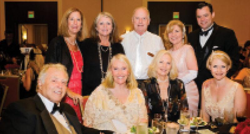 (Standing) Stacy Rubin, Nancy McGinley, Jerry and  Lisa Hartzog, and Mike Scafuri, (sitting) Bob and Jewel Morris, Debi Boies, and Lillian Rudacille