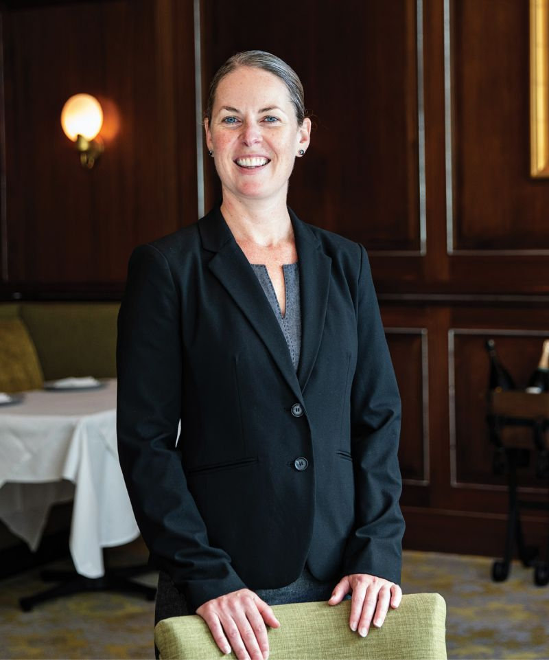 Charleston Grill reopened last October with Hennigan as general manager