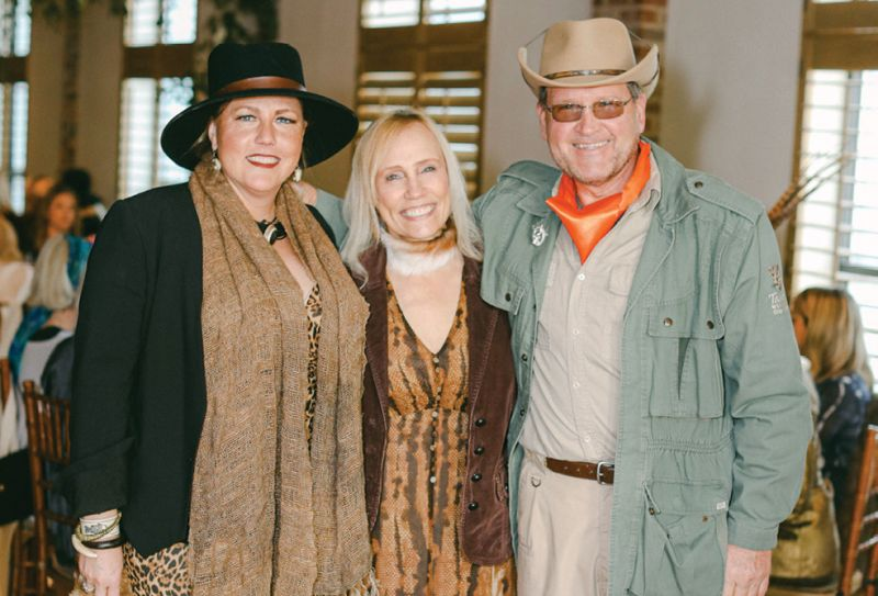 Norton and Hodges founder and designer Suzette L. Bussey with Ellen and John Latsko