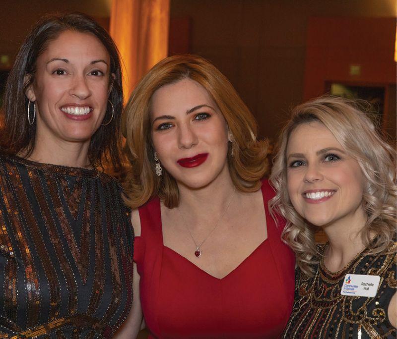 CIS staff members Aimee Lassor, Marianne Adams, and Rachelle Hall