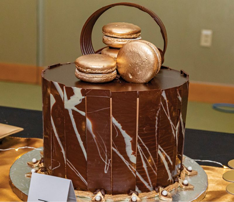 """Luckhaus & Brubaker Sweets & Treats won the """"Most Delectable"""" award in the dessert contest."""
