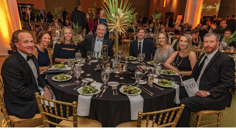 CIS board member Amy Chase (second from left) with members of Blackbaud's senior executive team
