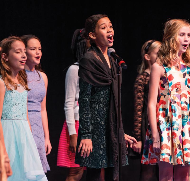 The company's fourth-through-seventh grade acting ensemble