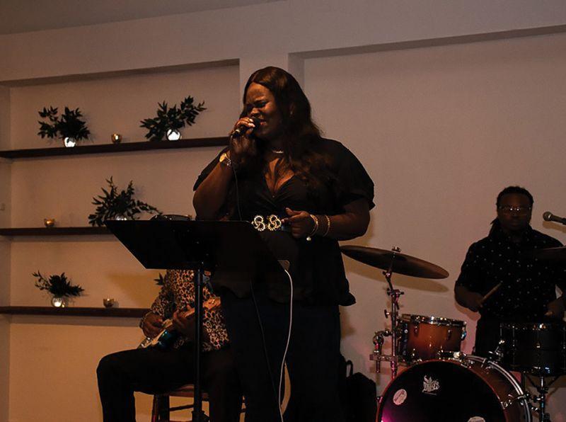 Christian Smalls of The Black Diamond Band