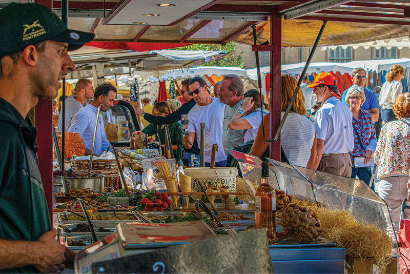 Knowing culinary treasures were hand-selected each day in the market made the night dinners that much more exciting.