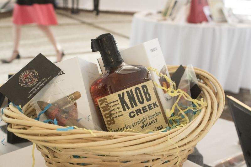A DIY Bourbon & cigar party kit up for auction.