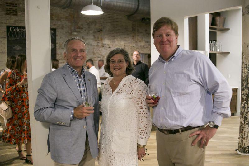 Gary Flynn, Lisa Craig, and Andy Craig
