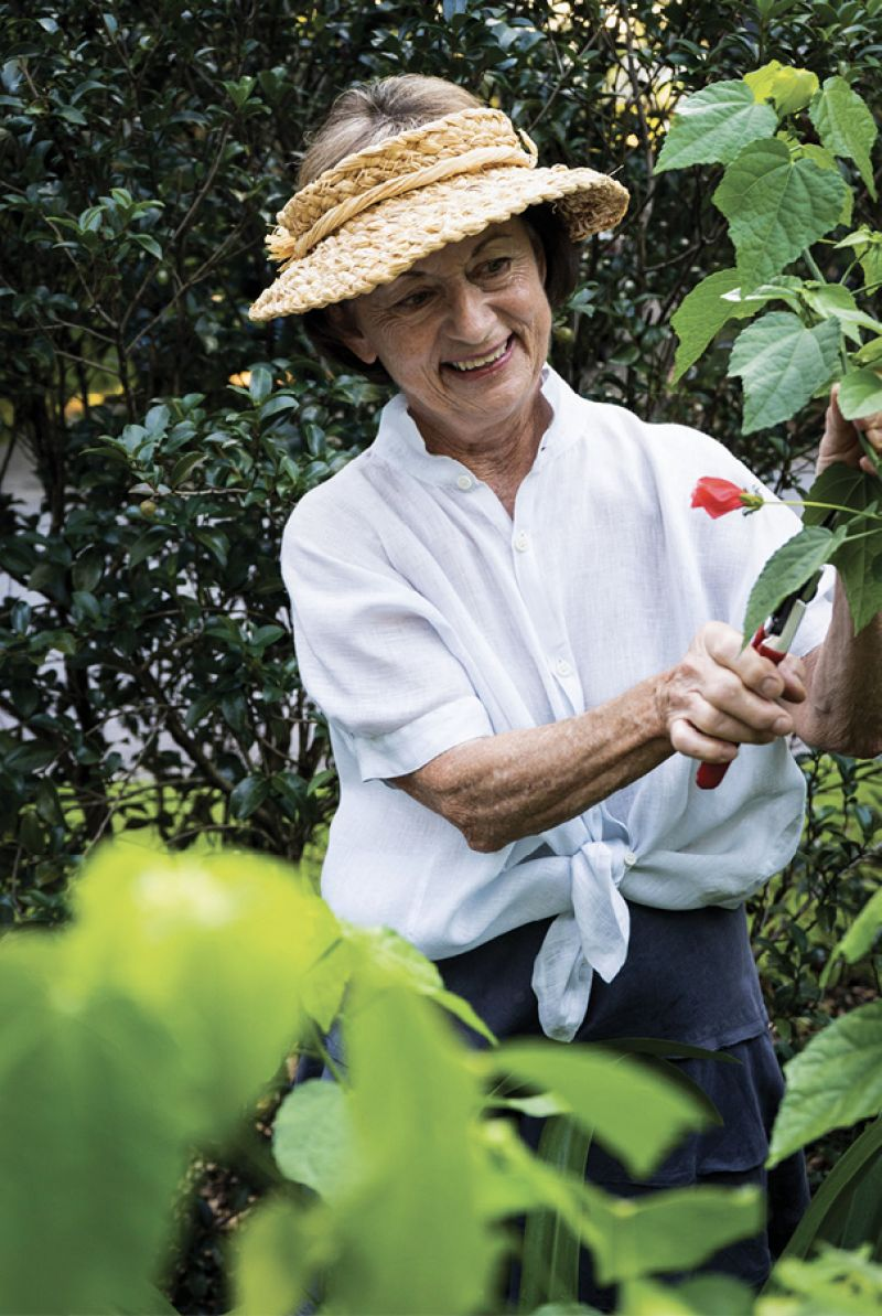 Local Pro: Though now mostly retired, Beverly Rivers has been designing and tending Charleston garden spaces since the 1980s.