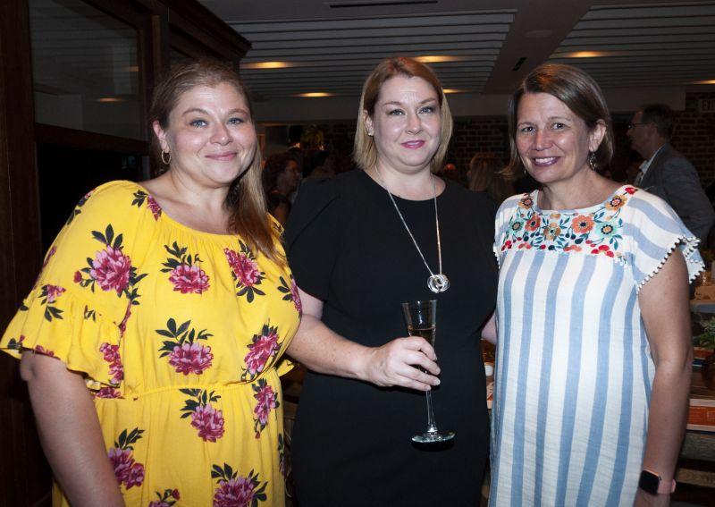 Yvonne Pittman, Renee Yeager, and Annie Herring