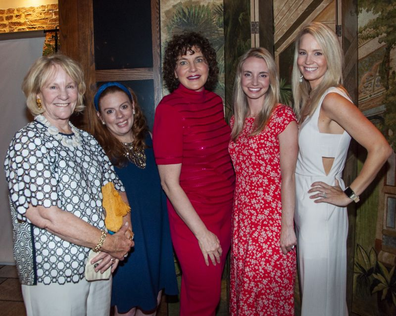 Jeanne Hall, Analisa Muti, Marguerite Germain, Danielle Arndt, and Lauren Whitehead