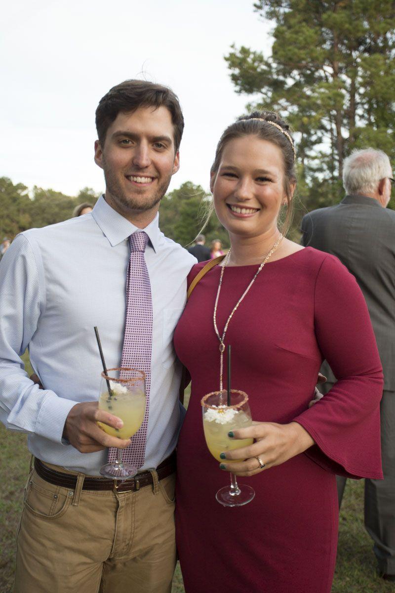 Alex DePue and Olivia Wilson