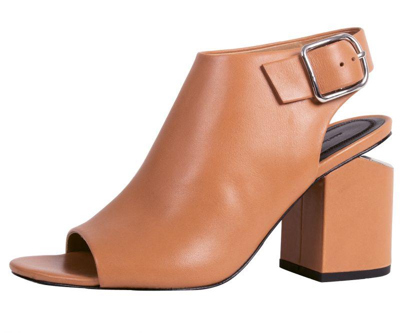 "5. Alexander Wang ""Nadia"" leather shoe in ""natural,"" $495 at Hampden Clothing"