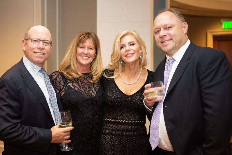 Bob and Terri Dalton with Christina and Phil Goerler