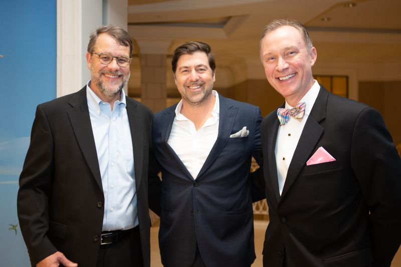 Harry Root, Mike Lata, and Jim Garrett