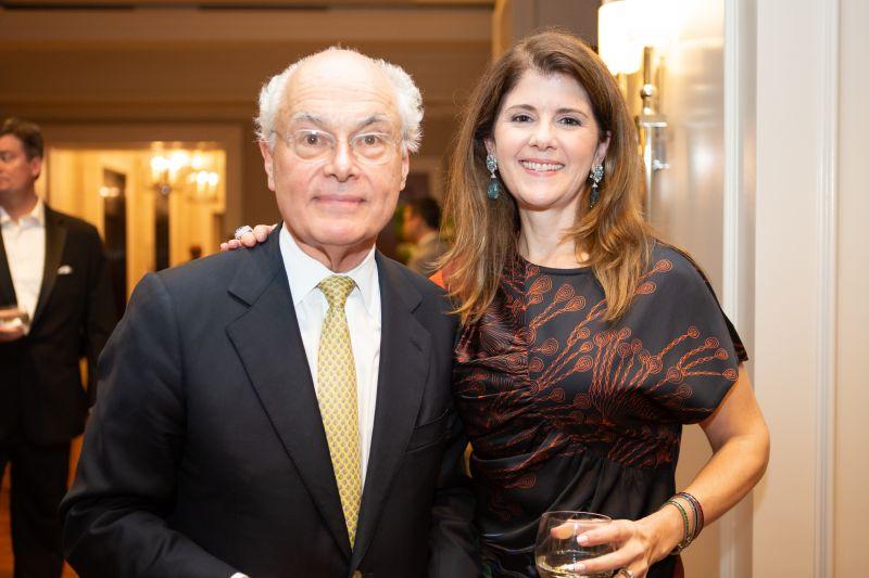 Festival General Director Nigel Redden and Spoleto Board President Alicia Gregory