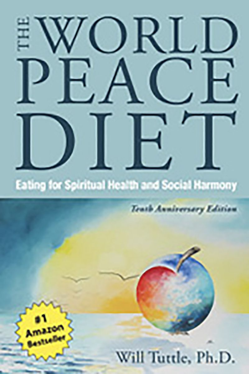 """Good Read - """"After going vegan, I read The World Peace Diet by Dr. Will Tuttle, which really solidified my veganism."""""""