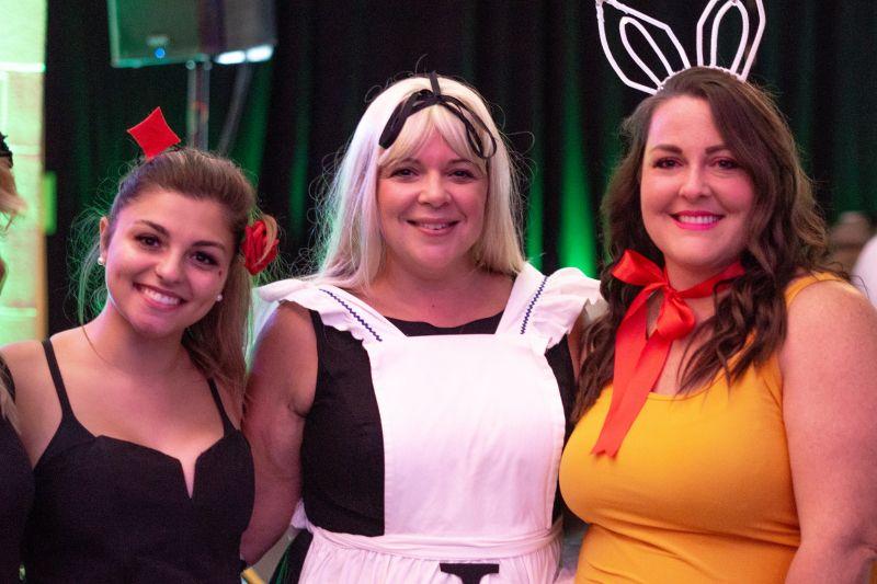 Becca Sakran, Colleen Sakran, and Ashley Parker