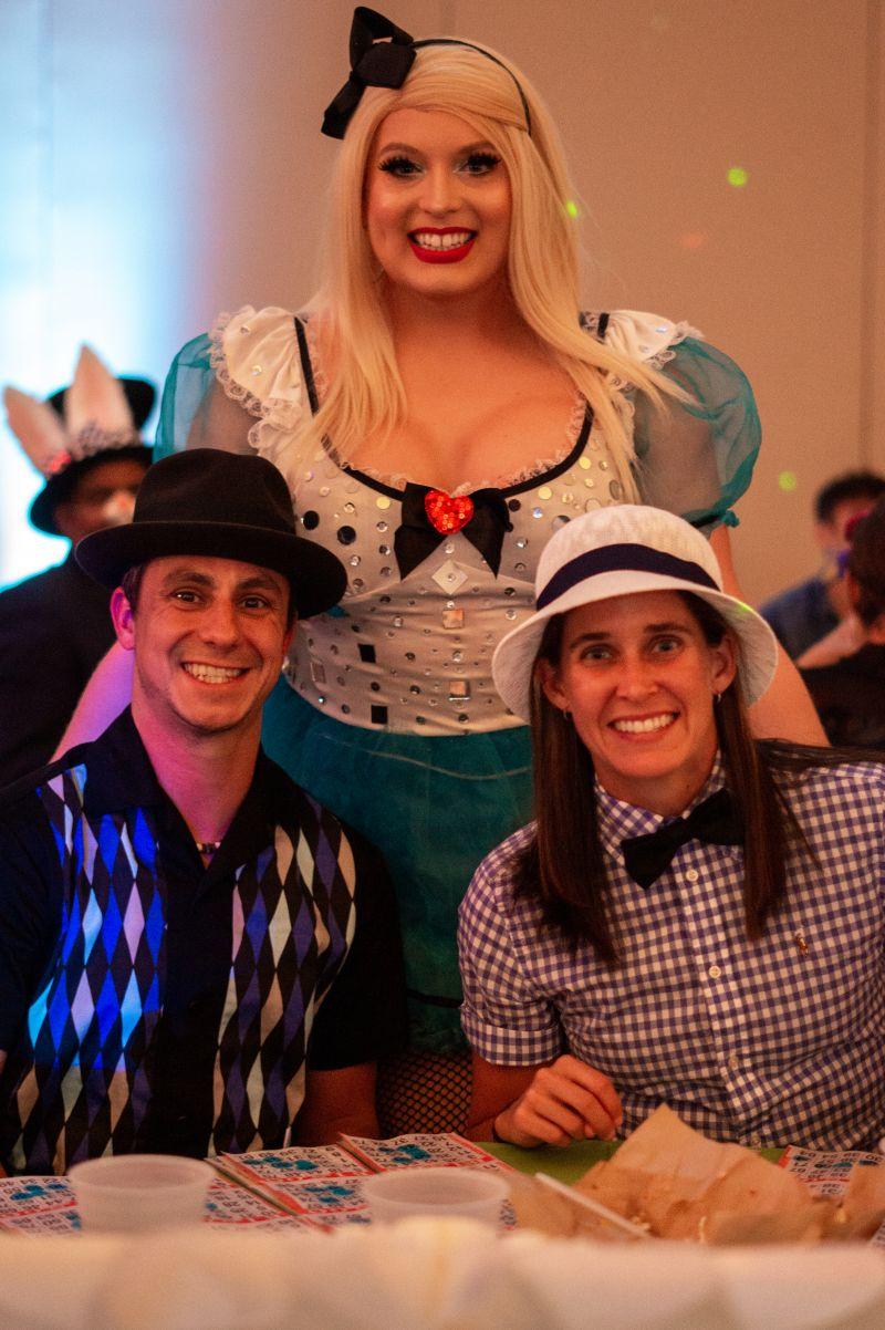 Clay Askew, Kylee Lovlee, and Erin Leonard