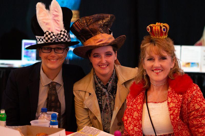 Karra Elam, Claire Cox, and Tammy Cox