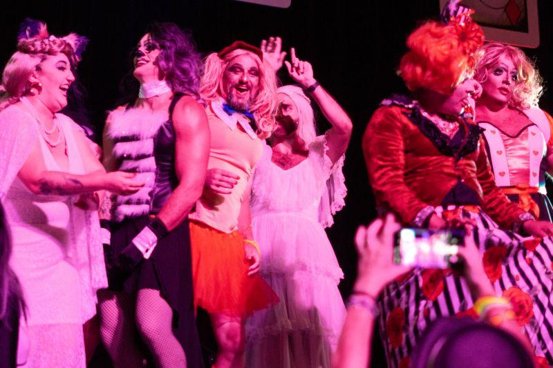 The Divine Divas hit the stage.