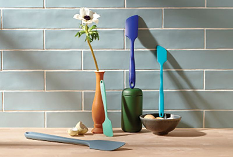 """Flip It Good: """"Get It Right (GIR) spatulas are freaking amazing! They are one-piece silicone spatulas—just the right weight and just flexible enough—in all these colors and sizes."""""""