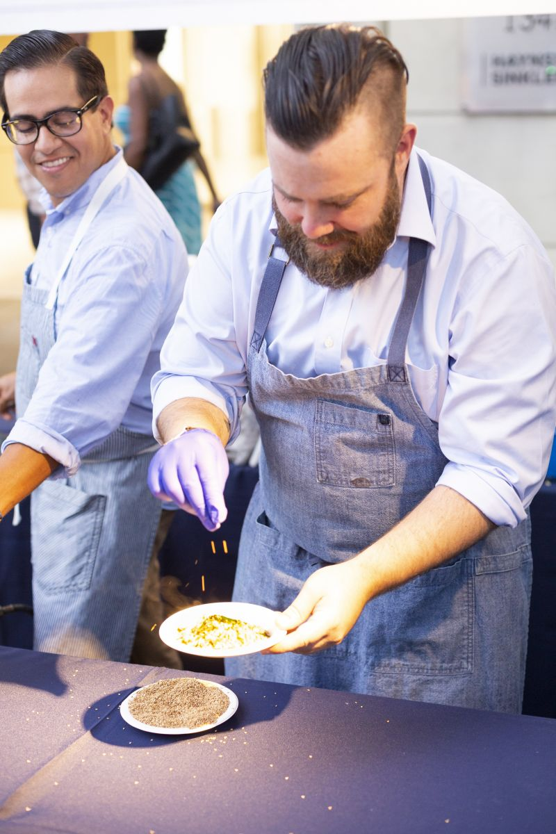 Chefs from more than 30 local restaurants prepared their signature dishes.