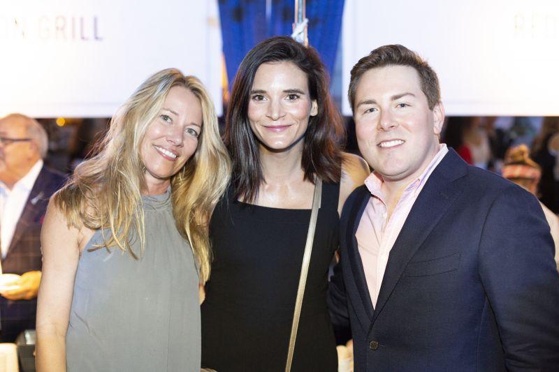 Michele Seekings, Emily Broome, and Jay Benson