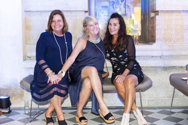 Barbara Logan, Marilyn Bendetti, and Celeste DeAngelis