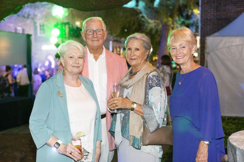 Lynn Hanlin, Lowry Hughes, Lorraine Perry, and Connie Hughes