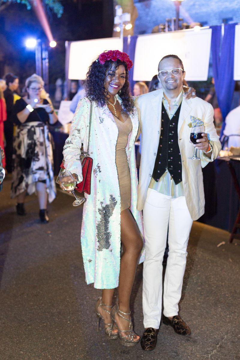 Mona Sosa and Nick Robinson