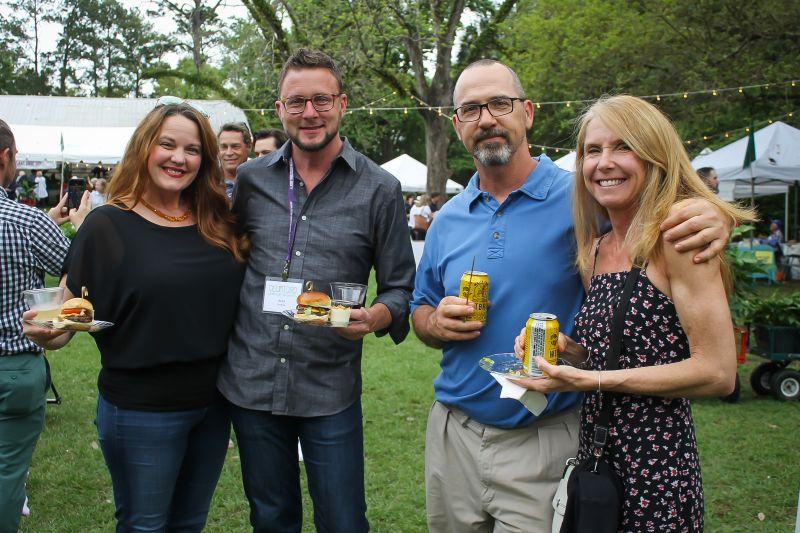 Jenny and Brad Goshorn with Tony and Heather Bertauski