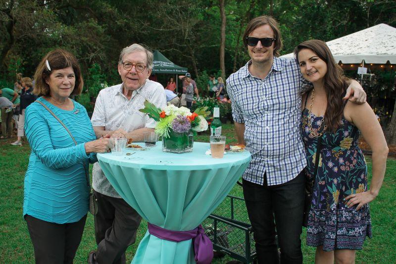 Glenda and Larry Wetsel with Matt Green and Tiffany Ehrhart