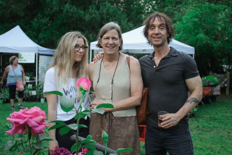 Sarah Dietzen, Ann Carney, and Derek Deitzen