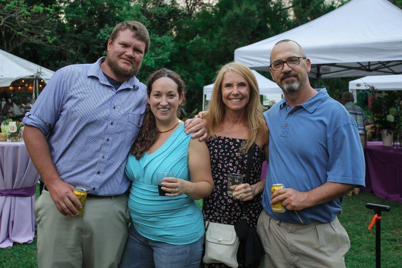 Carl and Johanna Rokes with Heather and Tony Bertauski