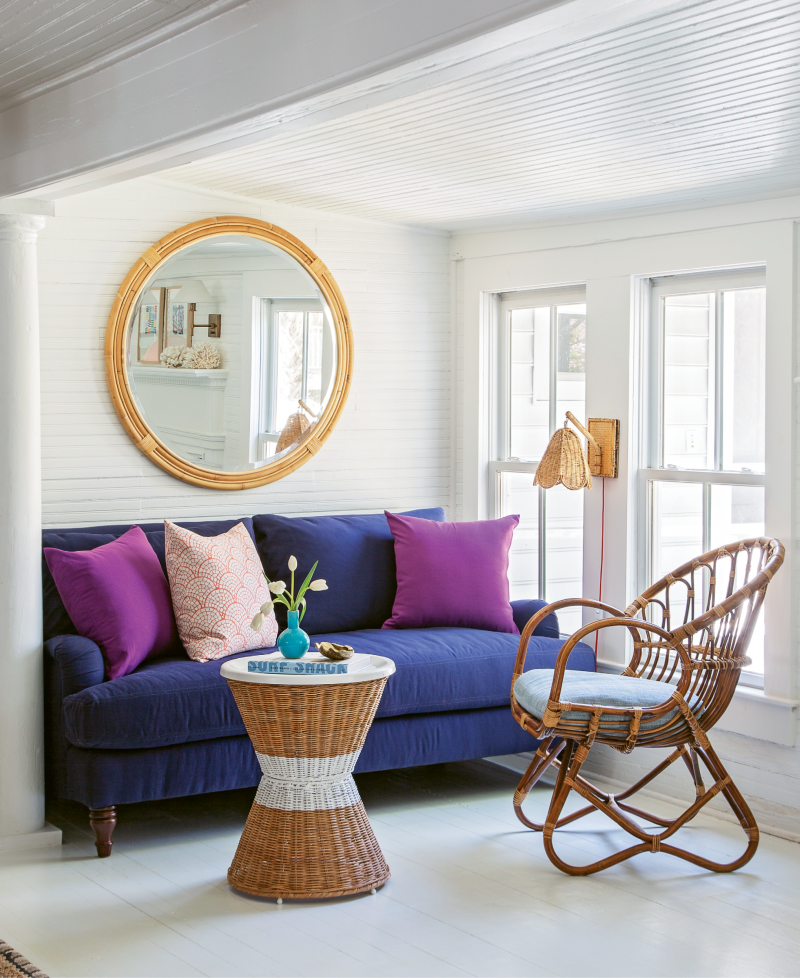 Personal Space: This century-old Sullivan's Island beach cottage, which was recently refreshed and reconfigured for another hundred years of family fun, offers up private nooks and charm aplenty.
