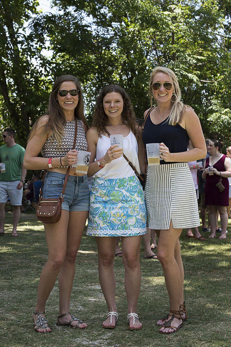 Kelsey McCawley, Kayla Halchak, and Chelsea Hathaway