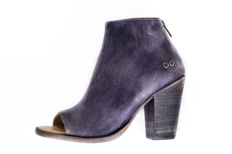 """BedStu """"Onset"""" heeled ankle boot in """"black driftwood,"""" $210 at Out of Hand"""