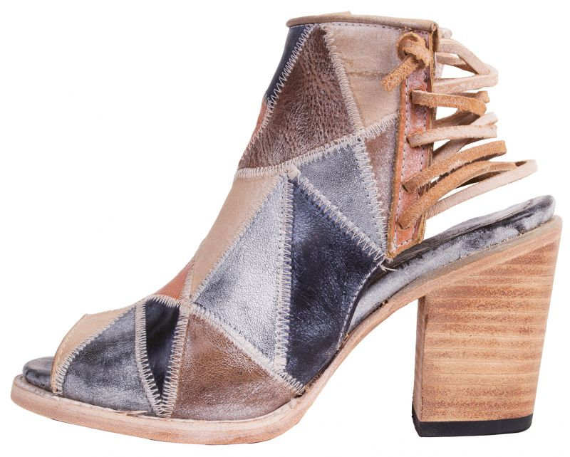 """3. Freebird by Steven """"Bay"""" leather booties in """"blue multi,"""" $275 at Out of Hand"""